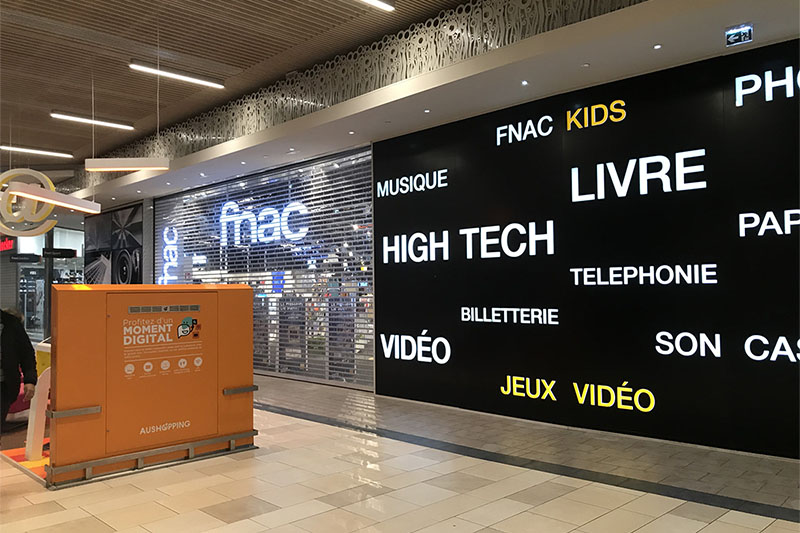 STRATEC | Magasin FNAC | Centre commercial de Bordeaux Lac