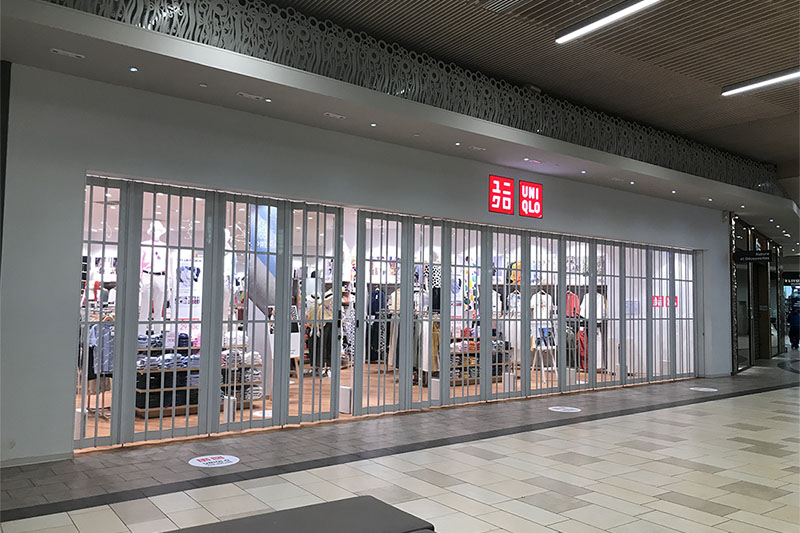 STRATEC | Magasin UNIQLO | Centre commercial de Bordeaux Lac